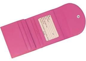 Royce Leather RFID Blocking Women's Slim Wallet in Genuine Leather Contrast Colors