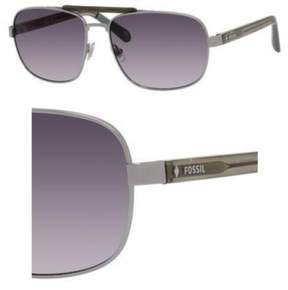 Fossil 3047/S Sunglasses 0KJ1 60 Semi Matte Ruthenium