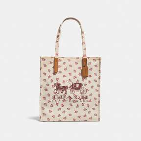 COACH Coach Horse And Carriage Tote - CHALK MULTI/BLACK COPPER - STYLE