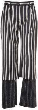 Aalto Double Layered Stripe Trousers