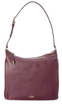 Kate Spade Lomart Street Paulie Leather Hobo. - PURPLE - STYLE