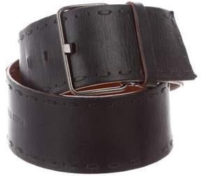 Miu Miu Leather Wide Belt