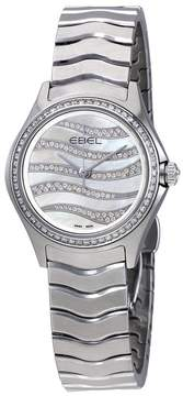 Ebel Wave Diamond White Mother of Pearl Dial Ladies Watch