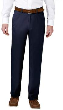 Haggar Men's Coastal Comfort Classic-Fit Stretch Flat-Front Chino Pants