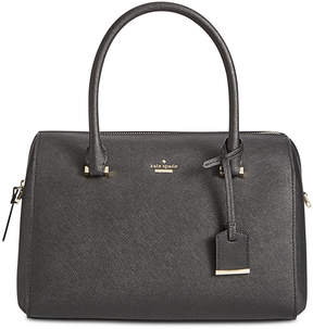 Kate Spade Cameron Street Mega Lane Medium Satchel - BLACK - STYLE