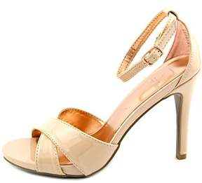 Material Girl Womens Msara Open Toe Ankle Strap Classic Pumps.