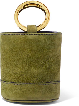 Simon Miller - Bonsai 15 Mini Nubuck Bucket Bag - Green