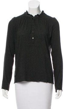 Vanessa Bruno Long Sleeve Top
