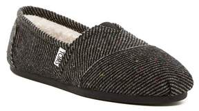 Toms Speckled Wool Slip-On Flat