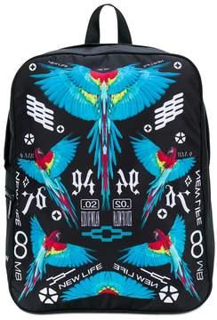 Marcelo Burlon County of Milan Kids Allover Wings backpack