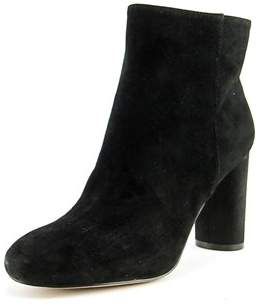 INC International Concepts Taytee Women Round Toe Suede Black Ankle Boot.