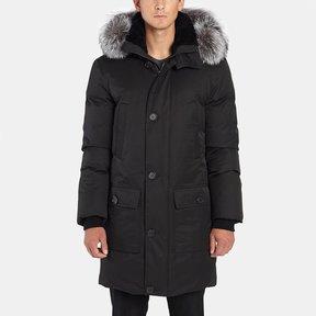 Mackage Vaughn Hooded Jacket with Fur Trim