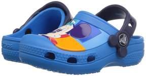 Crocs Mickey Color Block Clog (Toddler/Little Kid)