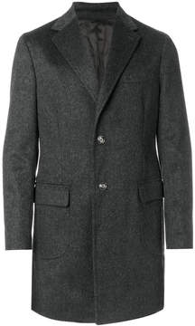 Barba single-breasted classic coat