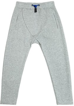 Armani Junior Baggy Fit Cotton Sweatpants