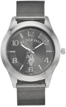 U.S. Polo Assn. Men's Two Tone Mesh Watch - USC80392KL
