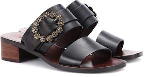 See by Chloe Embellished leather sandals