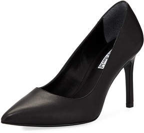 Charles David Denise Suede Buckle Pump, Black