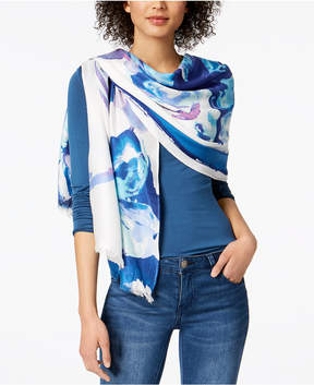INC International Concepts I.n.c. Inked Iris Wrap, Created for Macy's