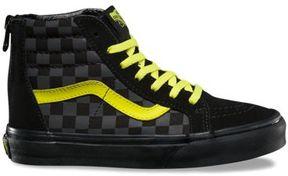 Vans Kids Checkerboard SK8-Hi Zip