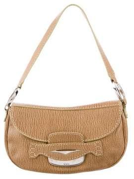 Tod's Textured Leather Shoulder Bag