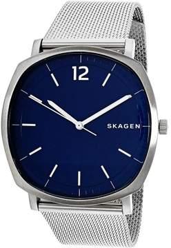 Skagen Men's Rungsted SKW6380 Silver Stainless-Steel Quartz Fashion Watch