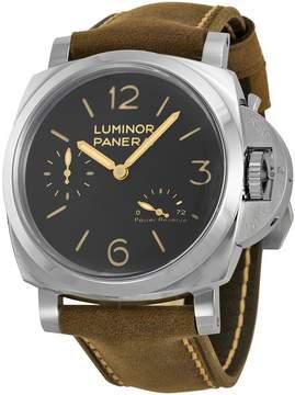 Panerai Luminor 1950 Power Reserve Black Dial Men's Watch