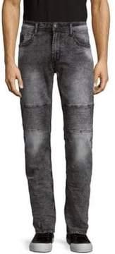 Buffalo David Bitton Skinny Moto Jeans