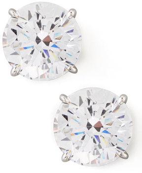 FANTASIA Round Cubic Zirconia Stud Earrings, 9mm