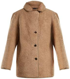 Joseph Holm rounded-collar shearling jacket
