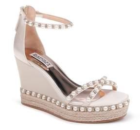 Badgley Mischka Sloan Wedge Sandal