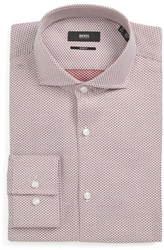 BOSS Men's Jason Slim Fit Dress Shirt