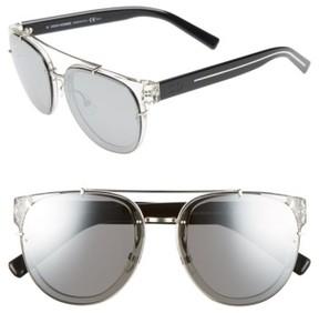Christian Dior Men's 'Black Tie' 56Mm Sunglasses - Crystal Black Crystal