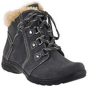 Earth As Is Origins Suede Water Repellent Ankle Boots - Crowley