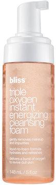 Bliss Triple Oxygen Instant Energizing Cleansing Foam, 5 Oz.