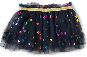 Baby Starters Baby Girls 3-12 Months Foiled-Dot Tutu Skirt