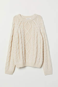H&M Cream Jumper