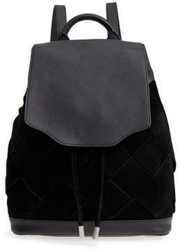 Rag & Bone Pilot Suede & Leather Backpack