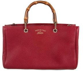 Gucci Bamboo Shopper Tote - RED - STYLE