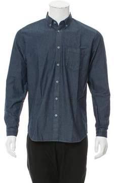 Folk Chambray Button-Up Shirt w/ Tags