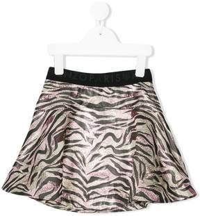 Kenzo tiger print mini skirt