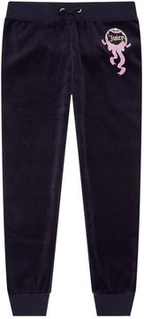 Juicy Couture Swooping Swallows Velour Zuma Sweatpants