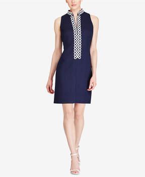 American Living Jacquard Sheath Dress
