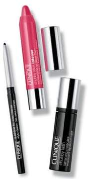 Clinique Getaway Brights Lip and Eye Makeup Set