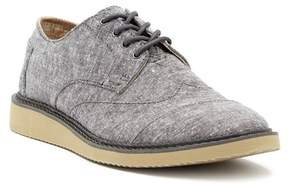 Toms Brogue Chambray Derby