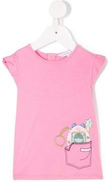 Little Marc Jacobs tamagotchi print T-shirt