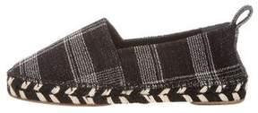 Proenza Schouler Knit Round-Toe Espadrilles