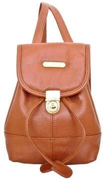 Asstd National Brand Leather Mini Backpack