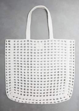 LAUREN MANOOGIAN Crochet Net Bag