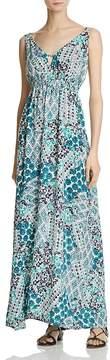 En Creme Printed Maxi Dress